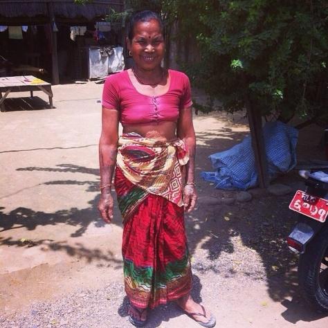 Tharu Woman